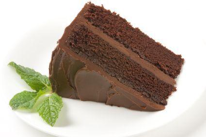 Low-Fat Vegan Chocolate Cake