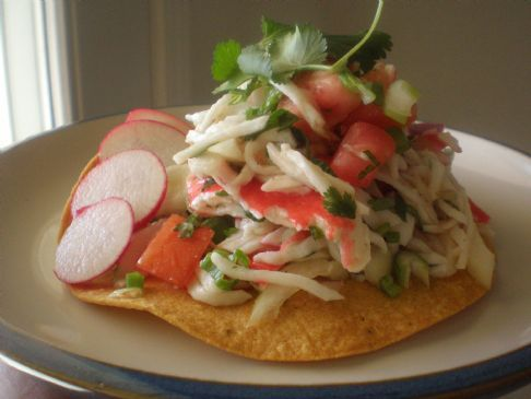 Imitation Crab Ceviche
