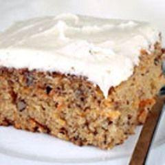Healthy Swap Carrot Cake