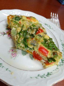 EASY Veggie Packed Egg Bake