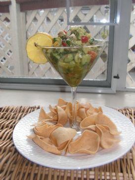 Cabo Shrimp Salad with mango