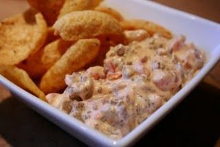 White Rotel Cheese Dip