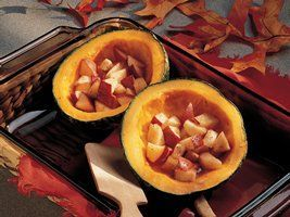 Buttercup Squash with Tart Apples
