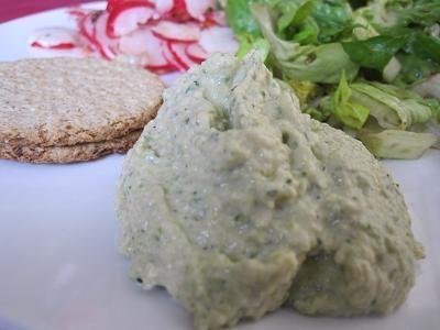 Courgette/Zucchini hummus