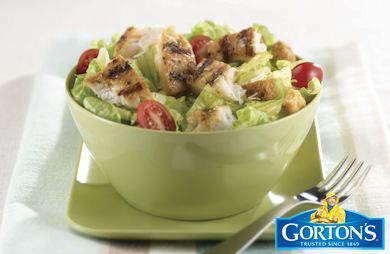 Grilled Tilapia Caesar Salad from Gorton's