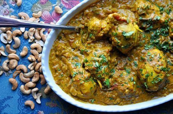 Chicken Cashew Curry