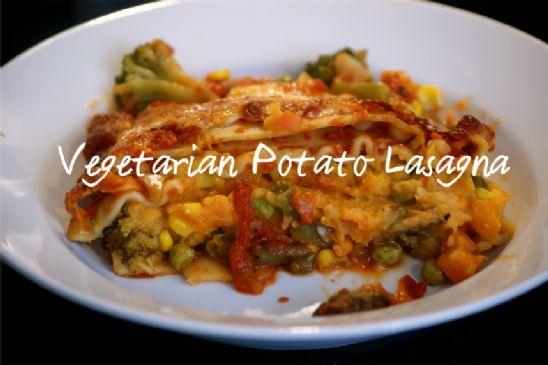Vegetarian Sweet Potato Lasagna