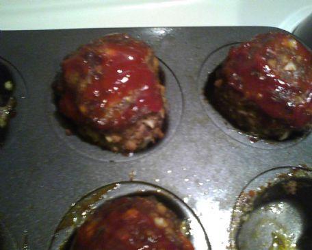 Mel's mini meatloaf muffins