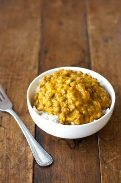 Indian Butternut Squash Lentil Curry