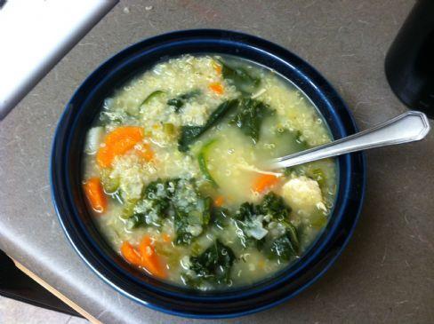 Chicken Veggie Quinoa Soup