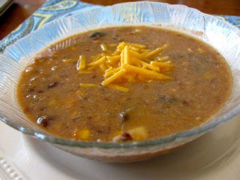 Zesty Chicken & Black Bean Soup