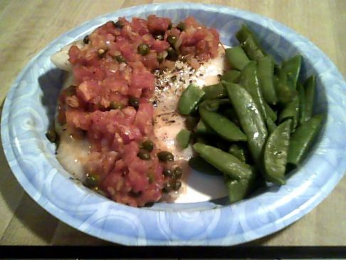 Tomato and Caper Tilapia