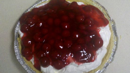 The Amazingly Simple, So Delicious, Not So Healthy No Bake Cherry Cheesecake