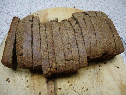 Gluten/Dairy Free Low carb, high protein, Almond Bread