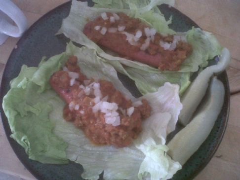 Homemade Hot Dog Chili