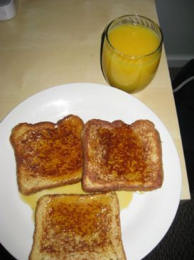Simple Cinnamon Toast