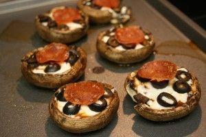 Portabella Pizza Bites