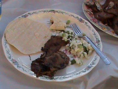 Carne Asada de mexican style