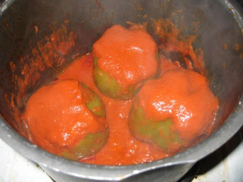 Autumn's Stuffed Peppers