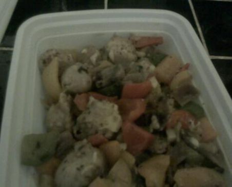 Chicken Sausage and Peppers Breakfast