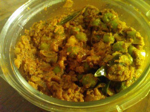 Green Peas Masala (Curry) Recipe