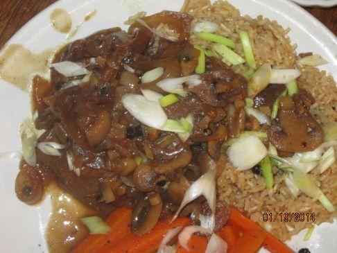 Crockpot Beef and sauce