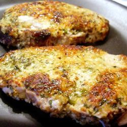 Italian Breaded Pork Loin Chops Recipe | SparkRecipes
