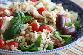 Orzo with Cherry Tomatoes and Artichokes