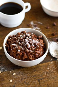 Chocolate Brownie Oatmeal
