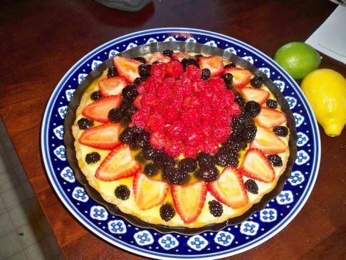 French-style Fresh Fruit Tart