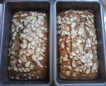 Banana Almond Bread