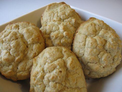 Organic Oat Flour Drop Biscuits