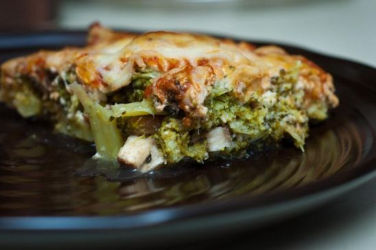 Italian Broccoli Cheese Casserole
