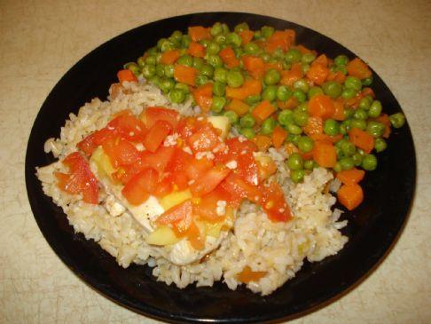 Sesame Mango Chicken (Clean Eating)