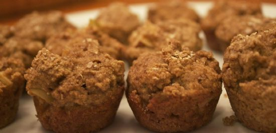 Apple Cinnamon Protein Mini Muffins (low Carb)