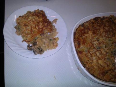 Tinas Chicken Squash Casserole