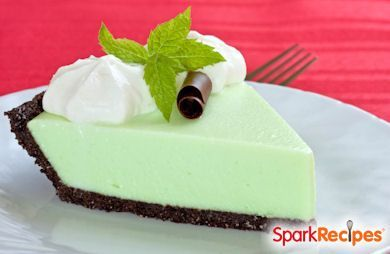 Chocolate Mint Grasshopper Pie