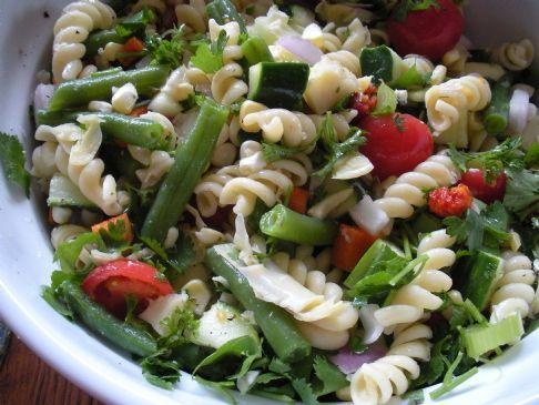 Light and Fresh Pasta Salad