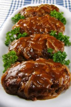 Hamburger and Onion Gravy