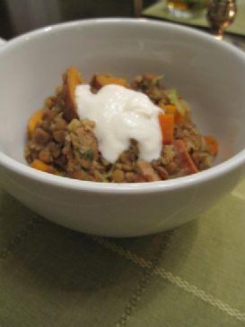 Melting Pot Lentil Stew