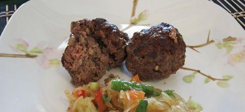 BBQ Meatloaf muffins