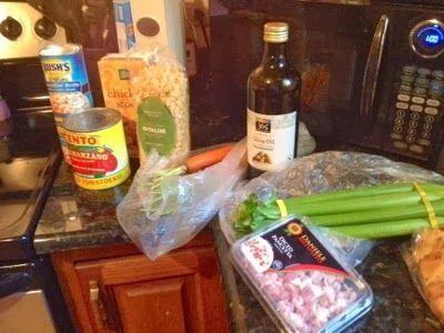 Minestrone with savoy cabbage