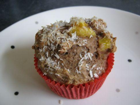 Susan's Mango protein muffins