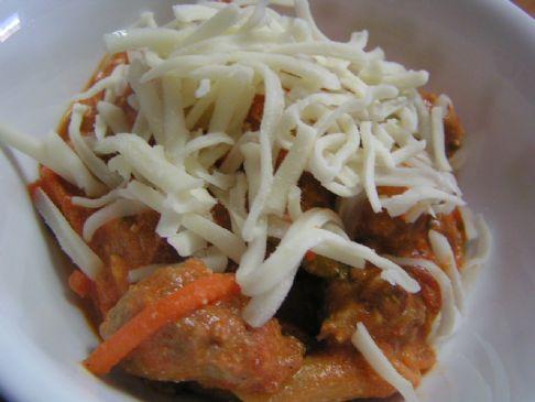 Italian Turkey Sausage Penne