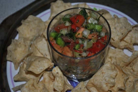 Amber's Homemade salsa
