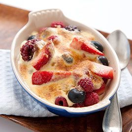 Fresh Berry Gratins