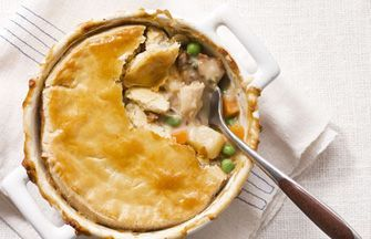 Curried Chicken Pot Pies