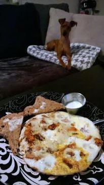 Egg White ^ Sweet Potato Frittata