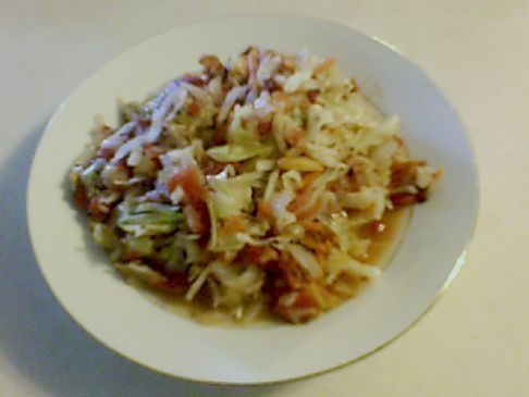 Braised Cabbage and Tomatoes