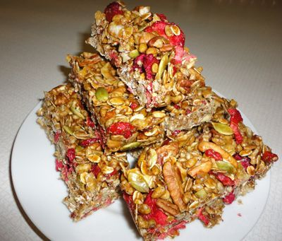 Coco Berry Granola Bars